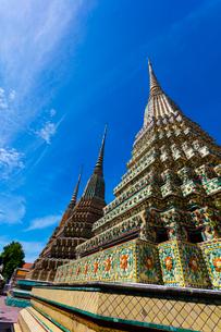 ワット・ポーの仏塔の写真素材 [FYI02935765]