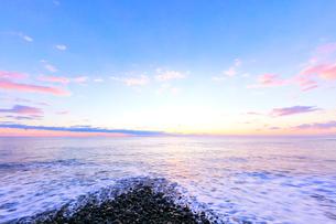 朝の海の写真素材 [FYI02935958]