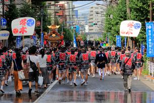 深川八幡祭りの写真素材 [FYI02935974]