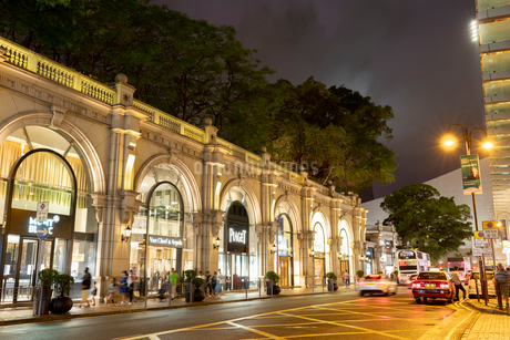 香港の漢口道の写真素材 [FYI02936018]