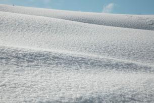 雪面の写真素材 [FYI02936068]