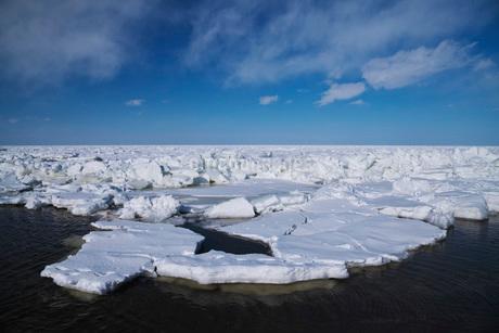 流氷の写真素材 [FYI02936080]