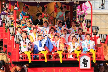 日高火防祭りの写真素材 [FYI02936202]