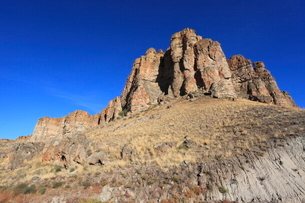ジョン・デイ化石層国定公園のクラーノ・ユニットの写真素材 [FYI02936855]