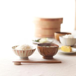 和食の朝食の写真素材 [FYI02937326]