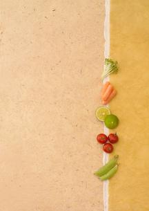 小さな野菜のデザインの写真素材 [FYI02937406]
