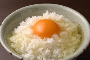 卵かけご飯の写真素材 [FYI02937687]