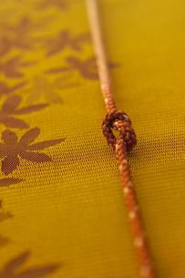 帯と帯締めの写真素材 [FYI02937812]