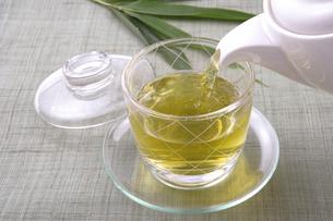 日本茶の写真素材 [FYI02937851]