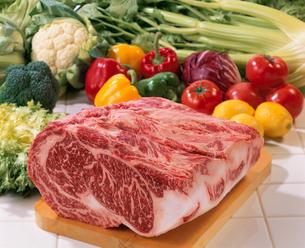 牛肉(ロース)の写真素材 [FYI02938054]