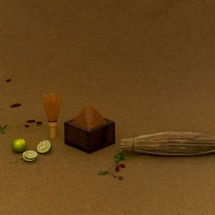 茶筅と味噌の写真素材 [FYI02938115]