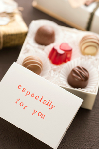 バレンタインチョコレートの写真素材 [FYI02938373]