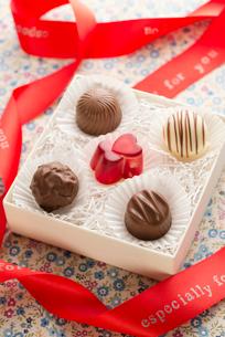 バレンタインチョコレートの写真素材 [FYI02938670]