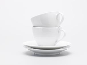 Stack of tea cupsの写真素材 [FYI02939031]
