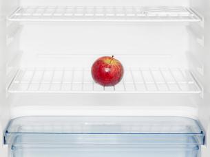 Red apple in fridgeの写真素材 [FYI02939204]
