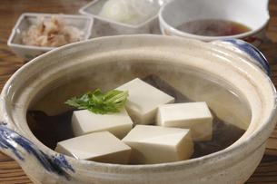 湯豆腐の写真素材 [FYI02939429]