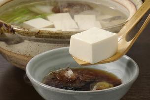 湯豆腐の写真素材 [FYI02939431]