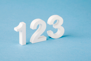 Numbers oneの写真素材 [FYI02939662]