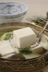 湯豆腐の写真素材 [FYI02939728]
