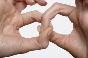 Fingers linkedの写真素材 [FYI02939843]