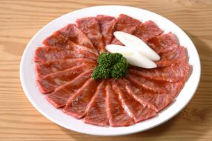 肉(カルビ)の写真素材 [FYI02940163]
