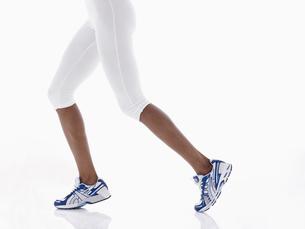 Female athletes legsの写真素材 [FYI02940828]