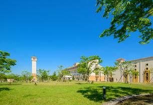 神戸 看護大学のキャンパスの写真素材 [FYI02940884]