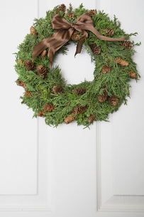 Christmas wreathの写真素材 [FYI02941401]