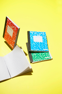 Colorful Notebooksの写真素材 [FYI02941715]