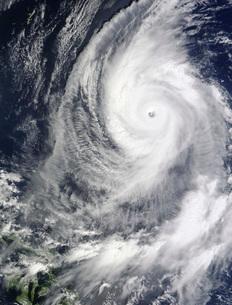 Typhoon Lupitの写真素材 [FYI02942161]