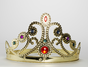 Golden Tiaraの写真素材 [FYI02942245]