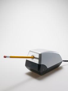 Pencil in Electrical Sharpenerの写真素材 [FYI02942389]