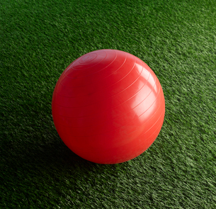Red Exercise Ballの写真素材 [FYI02942556]