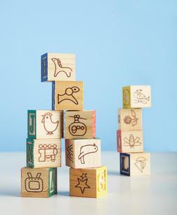 Wooden Toy Blocksの写真素材 [FYI02942689]