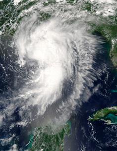 Tropical Storm Cindyの写真素材 [FYI02942856]