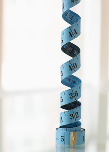 Coiled Tape Measureの写真素材 [FYI02942876]
