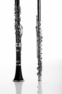 Clarinet and fluteの写真素材 [FYI02942987]