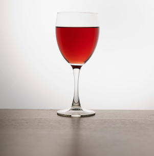 Glass of Red Wineの写真素材 [FYI02943325]