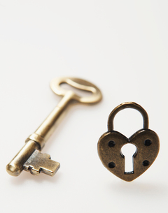 House Key and Lockの写真素材 [FYI02943413]