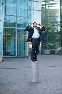 Businessman Cheeringの写真素材 [FYI02943514]