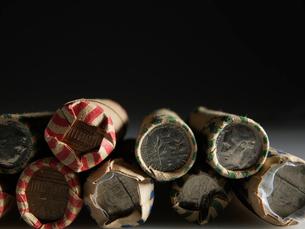 US Coin Rollsの写真素材 [FYI02943730]