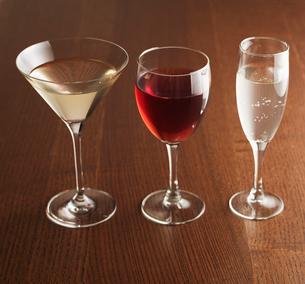 Three Alcoholic Drinksの写真素材 [FYI02943937]