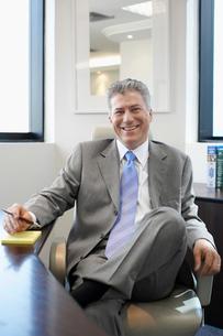 Portrait of male executiveの写真素材 [FYI02943943]