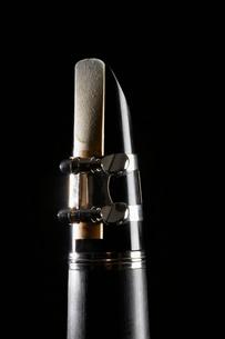 Close-up of clarinetの写真素材 [FYI02943978]