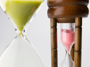 Two Hourglassesの写真素材 [FYI02944033]