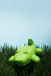 Plastic Toy Crocodileの写真素材 [FYI02944422]