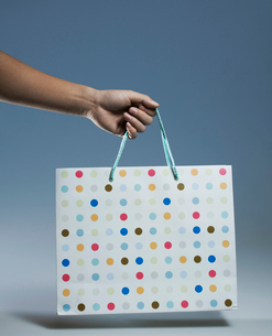 Person Holding Shopping Bagの写真素材 [FYI02944543]