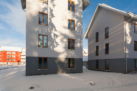 Sweden, Sodermanland, Stockholms Lan, Haninge, New apartmentsの写真素材 [FYI02944877]