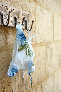 Bikini Hanging on Hookの写真素材 [FYI02944961]