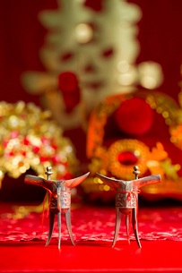 Traditional Chinese wedding elementsの写真素材 [FYI02945441]